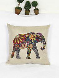 Creative Elephant Style Pillowcase Sofa Home Decor Cushion Cover (17*17 inch)