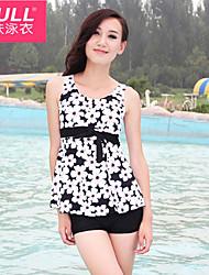 cheap -Woman fashion cute FLOWER SWIMSUIT