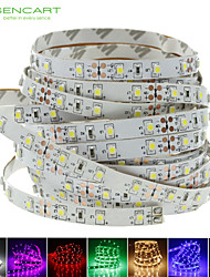 cheap -SENCART 5m Flexible LED Light Strips 300 LEDs Warm White / White / Red Cuttable / Dimmable / Linkable 12V / 3528 SMD / Self-adhesive