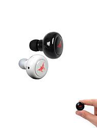 mini-en hovedtelefon Bluetooth 3.0 i øregangen med mikrofon til iphones6 / iphones6 plus Android-telefoner