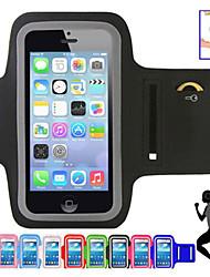 abordables -universal, caso del tacto de la pantalla brazalete deportivo para el iphone (colores surtidos)