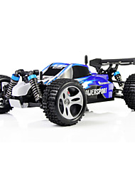 cheap -RC Car WL Toys A959 2.4G 4WD High Speed Drift Car Buggy (Off-road) 1:18 50 KM/H Remote Control / RC Rechargeable Electric