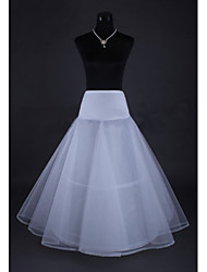 cheap -Wedding Special Occasion Slips Tulle Netting Tea-Length A-Line Slip With