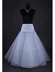 abordables -Cérémonie de mariage Occasion spéciale Déshabillés Filet de tulle Mollet Robe trapèze Avec