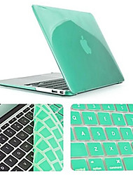 cheap -Solid Color Newest Crystal Full Body Case with Keyboard Cover for Macbook Air 11.6 inch (Assorted Colors)