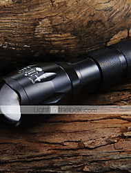 LED Flashlights LED Flashlights/Torch Handheld Flashlights/Torch LED 1600 Lumens 5 Mode Cree XM-L T6 Adjustable Focus for