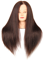cheap -Synthetic Hair Mixed Animal Salon Female Mannequin Head with Make-up