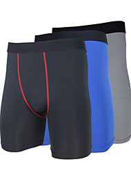 cheap -Men's / Unisex Running Shorts / Running Tight Shorts - 3#, 4#, 5# Sports Slim Spandex Shorts / Pants / Trousers / Leggings Fitness, Gym, Workout Activewear Thermal / Warm, Quick Dry, Ultraviolet