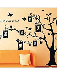 photo wall stickers albero cornice zooyoo2141 bambini sala arti della parete salone stickers murali