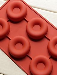 módní silikonové mýdlo želé pudink zdobení formy kuchyň muffin donuts dort Pečení vaření nástroje (random barva)