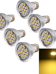 E26/E27 Faretti LED MR16 15 leds SMD 5630 Decorativo Bianco caldo 700lm 3000K AC 85-265V