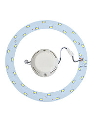 abordables -yangming 1 pcs 18 w 30 smd 5730 1400lm 6000k cool white ceiling lights placa de reconstrucción ac 85-265v
