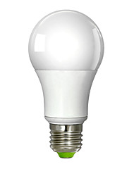 preiswerte -700 lm E26/E27 LED Kugelbirnen A60(A19) 1 Leds Integriertes LED Warmes Weiß Wechselstrom 100-240V