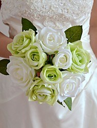 """verde branco azul roxo rosa vermelha bouquet 7,87 """"cada um bouquet 6 cabeças com 3 botões"""