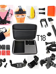 Case/Bags Adhesive Mounts Straps Mount / Holder Waterproof Floating For Action Camera Gopro 5 Gopro 4 Gopro 3 Gopro 3+ Gopro 2 Universal