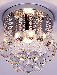 cheap -Modern/Contemporary Traditional/Classic Retro Lantern Country Island Globe Crystal Mini Style Flush Mount Ambient Light For Living Room