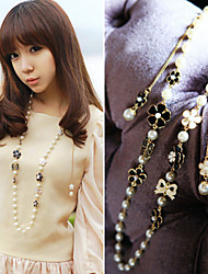 cheap -Z&X® Fashion Pearl/Bowknot/Flower Strands Necklaces Daily/Casual 1pc