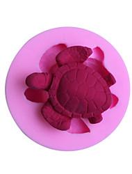 Недорогие -формы для выпечки черепаха помадной массы формы украшения торта форму
