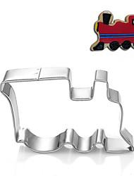 Недорогие -автомобиль поезд locmotive форма Формочки фрукты вырезать формы из нержавеющей стали