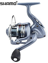 cheap -Fishing Reel Spinning Reels 5.1:1 Gear Ratio+4 Ball Bearings Hand Orientation Exchangable Sea Fishing Ice Fishing Freshwater Fishing