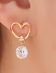 cheap -Women's Drop Earrings Basic Heart Fashion Alloy Heart Jewelry Party Daily Casual Costume Jewelry