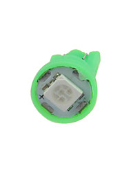 cheap -1X  Green T10 1 SMD 5050 LED car Clearance Instrument Lamp Roof Light DC 12V A001