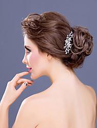 rhinestone legering hår kamme hovedstykke klassisk feminin stil