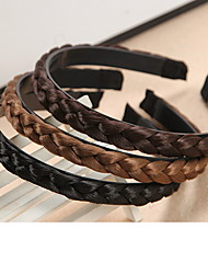 cheap -Women's Alloy Headband,Vintage Cute Party Work Casual All Seasons Black Brown Khaki