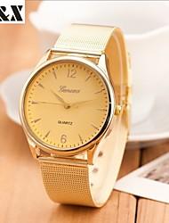 cheap -Women's Quartz Wrist Watch Hot Sale Alloy Band Charm Fashion Gold