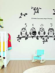 Недорогие -животное стены наклейка животные детская детская детская комната деколь украшение стены