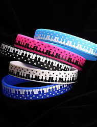Silicone 1 Bracelet Chain & Link Bracelets Wedding/Party/Daily/Casual/Sports 1pc
