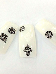 cheap -fd 57 1 set nail art flower stickers nail decals stickers japan korea style decal nail art decals case