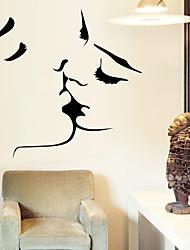 murali Stickers adesivi murali, wall stickers bacio in pvc