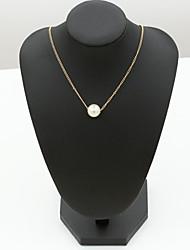 Dame Halskædevedhæng Krystal Rhinsten Imitation Diamond 18K guld Østrig Crystal Mode Europæisk Smykker For