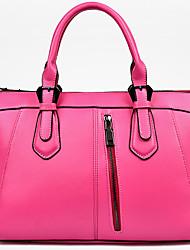 abordables -Mujer PU Formal / Casual / Oficina y Trabajo / De Compras Bolso de Hombro / Tote Blanco / Morado / Azul / Amarillo / Rojo / Negro