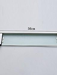 Mensola del bagno Contemporaneo Acciaio inossidabile Vetro 13.5cm 60cm Mensola per il bagno