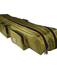 Fishdrops Fishing Bag, 39.6L Huge Capacity Water Proof Navy Green Canvas Bag 120cm* 20cm* 16.5cm