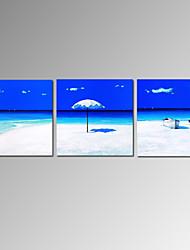visuais grupo seascape pintura a óleo da lona praia star®modern pronto para pendurar