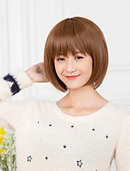 abordables -Japon et la Corée du sud modèle de détonation de perruques de cheveux tempérament courte qi de mode de haute qualité
