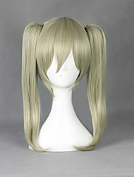 cheap -Cosplay Wigs SoulEater Maka Albarn Anime Cosplay Wigs 45 CM Heat Resistant Fiber Men's Women's