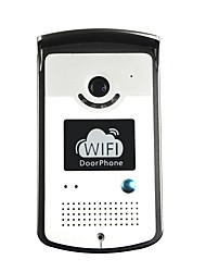 billige -wifi ip video dørtelefon dør intercom dørklokke med tovejs stemme, mobile apps og bevægelsesdetektering