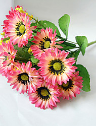 cheap -High Quality Artificial Flower Bright Color Chrysanthemum Silk Flower for Wedding and Decorative