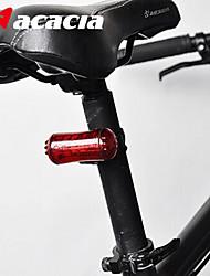 Luzes de Bicicleta Luz Traseira Para Bicicleta luzes de segurança - - Ciclismo Fácil de Transportar Botão Bateria Lumens Bateria Ciclismo