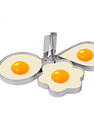 cheap -Plastic Creative Kitchen Gadget Egg DIY Mold