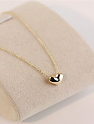 cheap -Women's Heart Shape Love Statement Necklace Alloy Statement Necklace Costume Jewelry