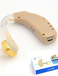 abordables -nouvelle rechargeable aides auditives audiphone derrière l'oreille acousticon US Adaptateur