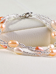 cheap -Women's Pearl Strand Bracelet - Pearl Bracelet For Wedding / Party / Daily