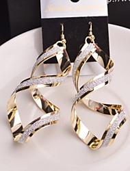 cheap -Women's Drop Earrings - Silver / Golden For Wedding / Party / Daily