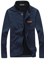 povoljno -Majica s rukavima Muškarci-Classic & Timeless Jedna barva Classic Style