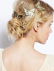 Damen Legierung Kopfschmuck-Freizeit im Freien Haarclip 1 Stück